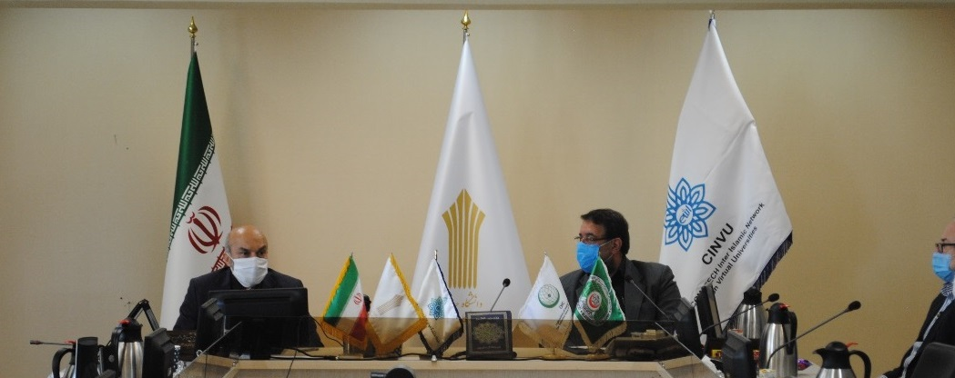 Signing a memorandum between the Virtual Network of Universities of the Islamic World and the Central Comprehensive University of Applied Sciences